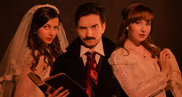 """Learn the tips and tricks on Kickstarter from Mary Kate Wiles, who with her troupe Shipwrecked, raised over 70k for their new series Edgar Allan Poe's Murder Mystery Dinner. Then join Ben Caro, as he kickstarts his own short, """"Cathedrals."""""""