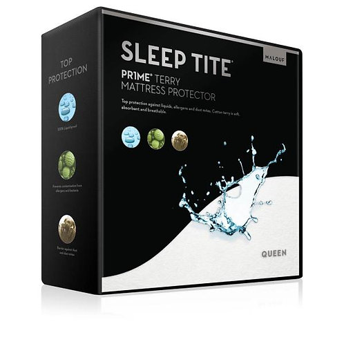 Malouf Sleep Tite Pr1me® Terry Mattress Protector