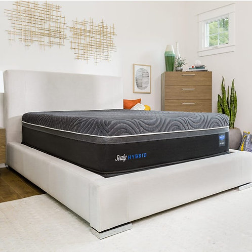 "Sealy Hybrid Premium™ Silver Chill Firm 14"" Mattress"