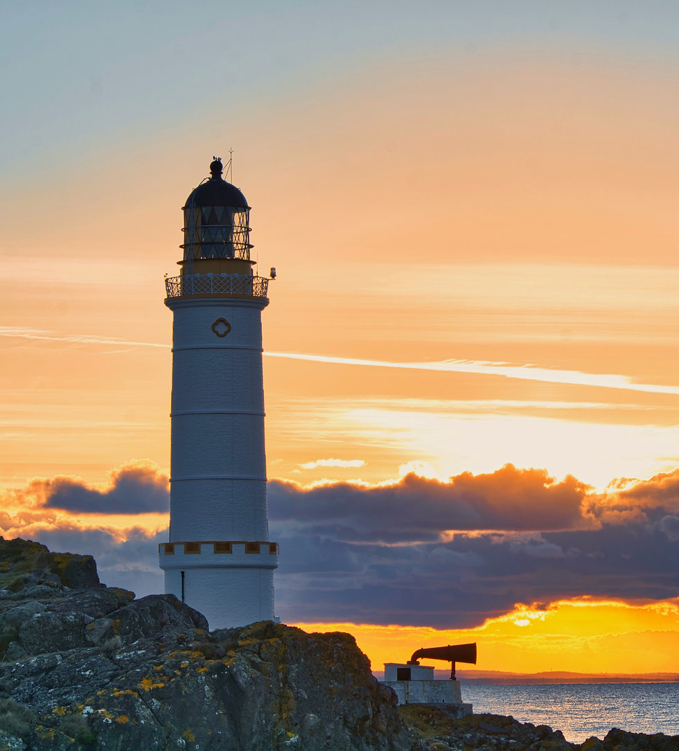Sunset at the lighthouse