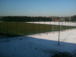 Verwarmd trainingsveld