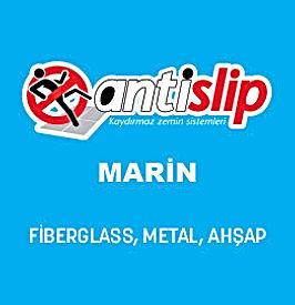 Antislip Marin kaydırmaz şeffaf