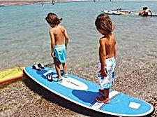 Sörf ve kano kaydırmaz zemin