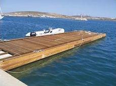 Antislip marin iskele kaydırmazlık uygulaması