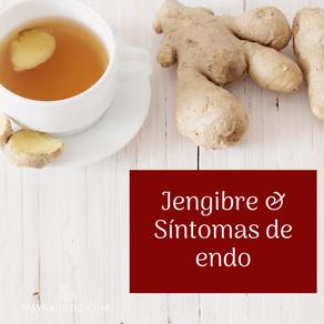 ¿Cómo el jengibre puede ayudar a manejar la inflamación y los síntomas de endometriosis?