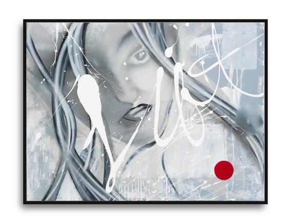 "48"" x 36"" on Canvas"