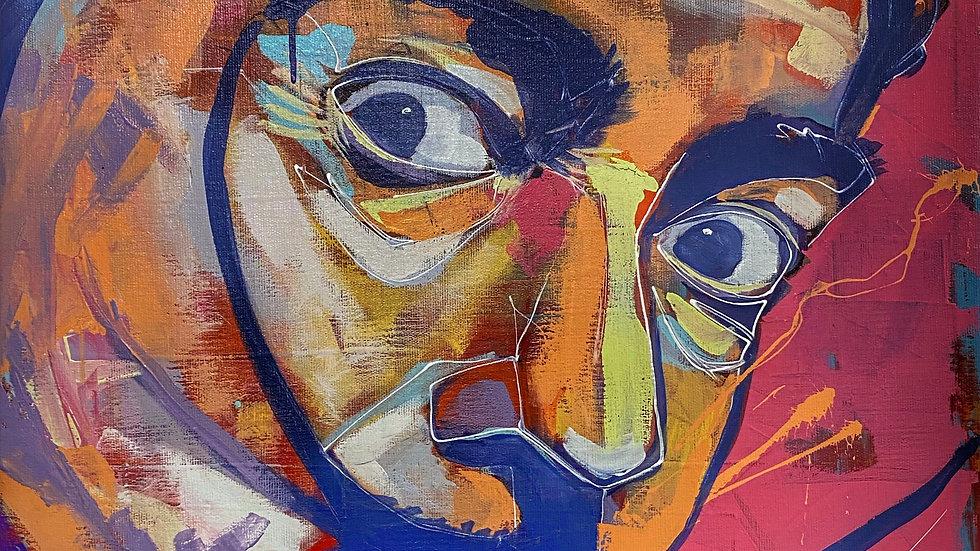 Salvador Dali  12x18 print