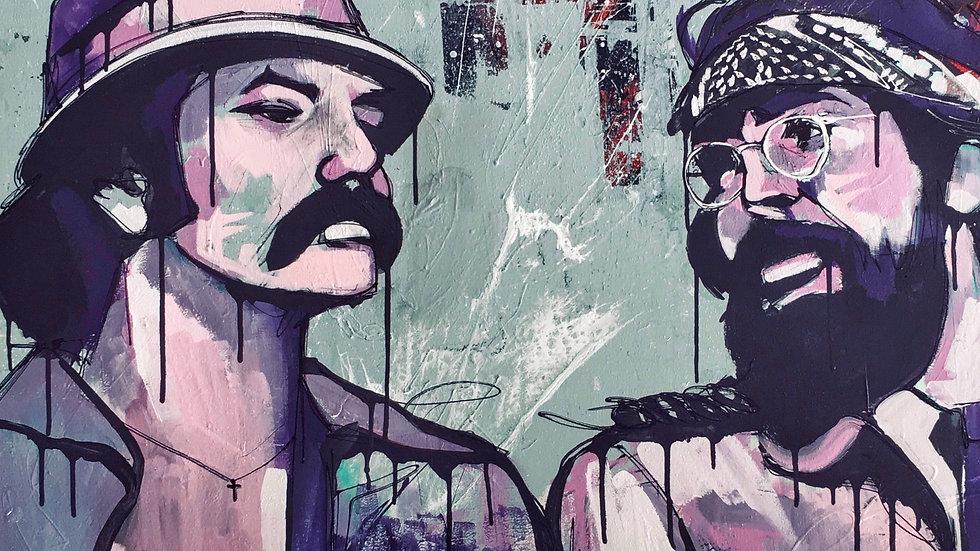 Cheech And Chong 12x18 print