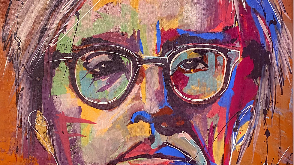 Andy Warhol 12x18 print