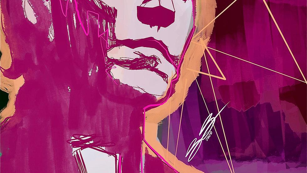 King of NY  12x18 print