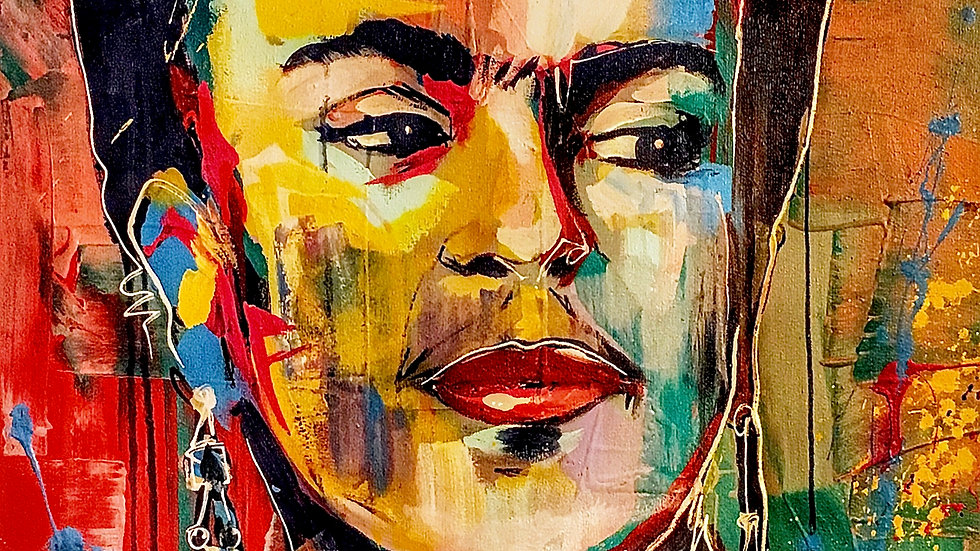 Frida Kahlo  12x18 print
