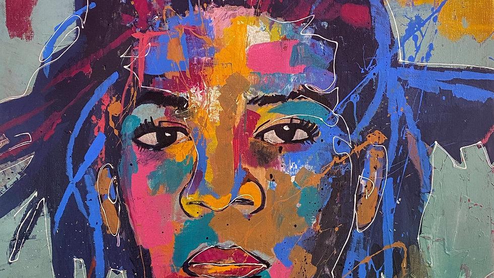 Jean Michel Basquiat  12x18 print