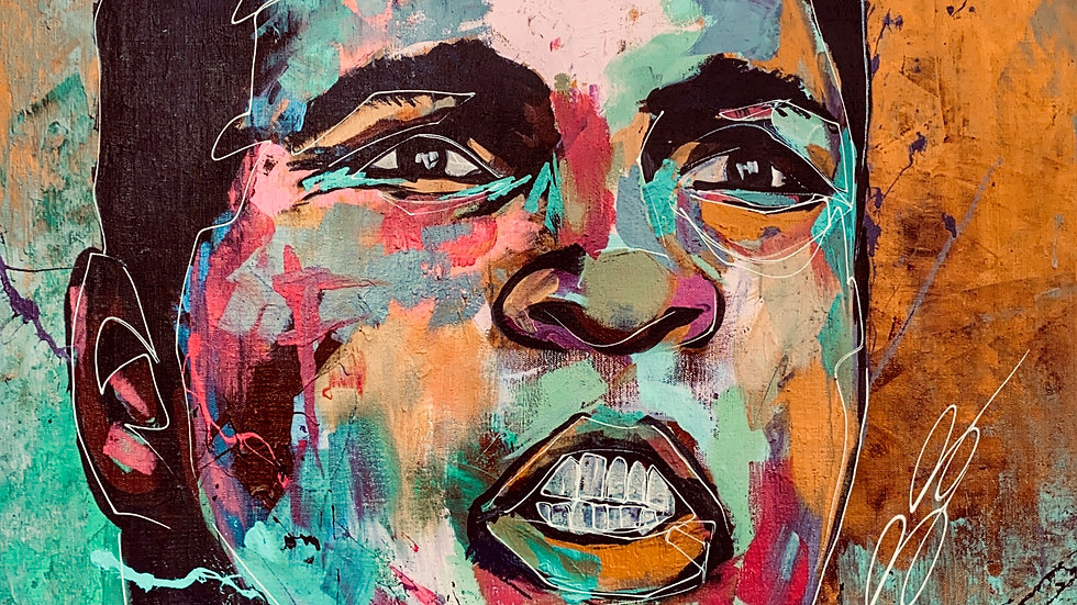 Muhammad Ali 12x18 print