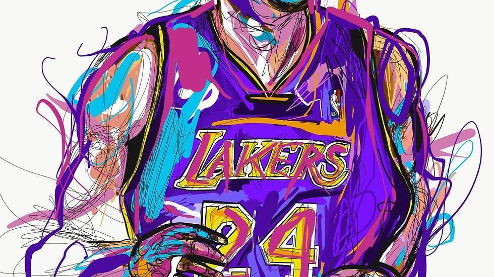 Kobe2  12x18 print