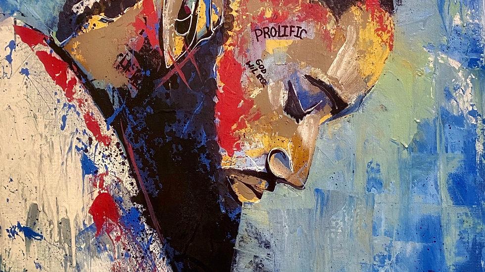 Nipsey Hussle  12x18 print