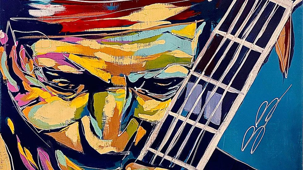 Keith Richards 12x18 print