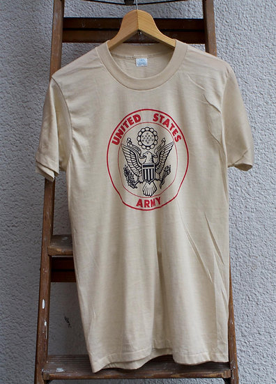 1970~1980's/US.ARMY/T-Shirt/DEADSTOCK/アメリカ軍Tシャツ/デッドストック