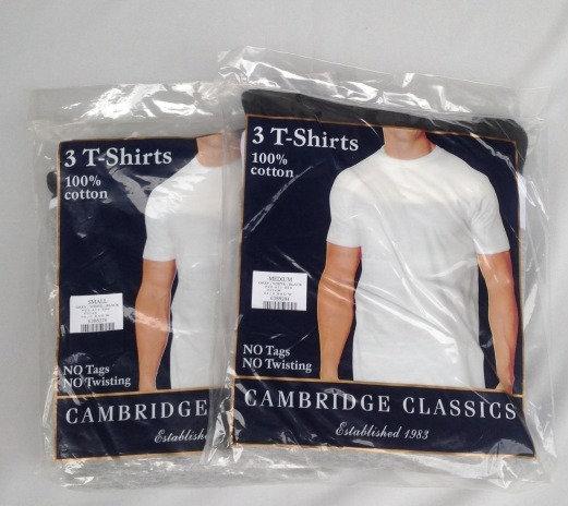 3 Pack Tee / 3色 / Cambridge Classics / New
