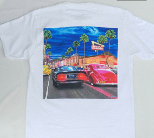IN-N-OUT BURGER/オリジナルプリントTシャツ