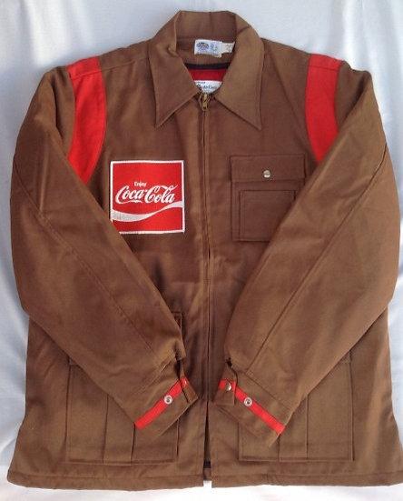 デッドストック ワークジャケット coca-cola