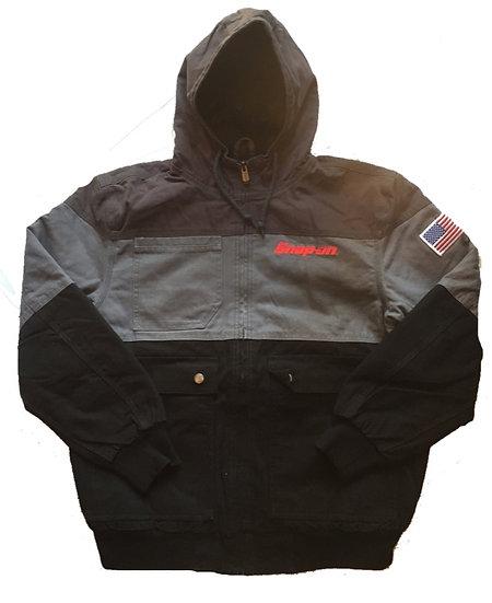 New/Snap-on/Work jacket/Gray×Black/新品/スナップオンジャケット/グレー×黒