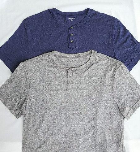 J・CREW Tシャツ ヘンリーネック USA