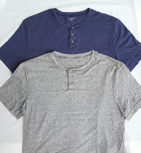 J-CREW/ ヘンリーネックTシャツ