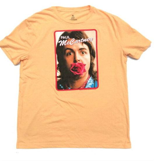 Paul McCartneyプリントTシャツ