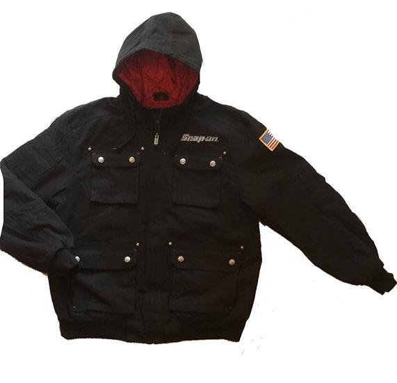 New/Snap-on/Work jacket/Black/新品/スナップオンジャケット/黒