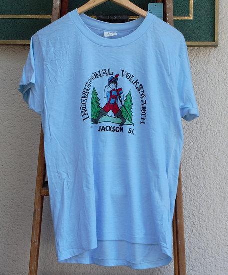 1980`s/Made in USA Print T-shirt/CAL CRU/デッドストックプリントTシャツ
