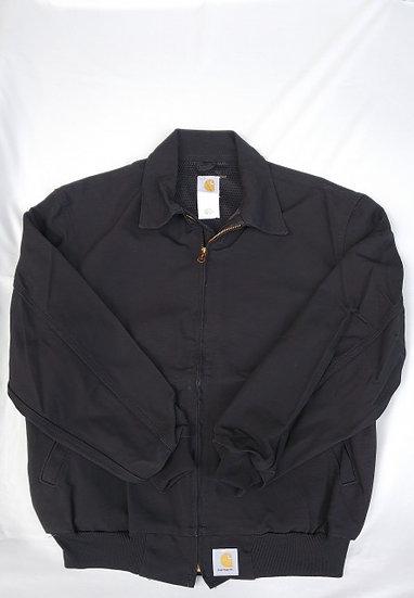 Carhartt/衿付ジャケット/アメリカ製【ブラック】