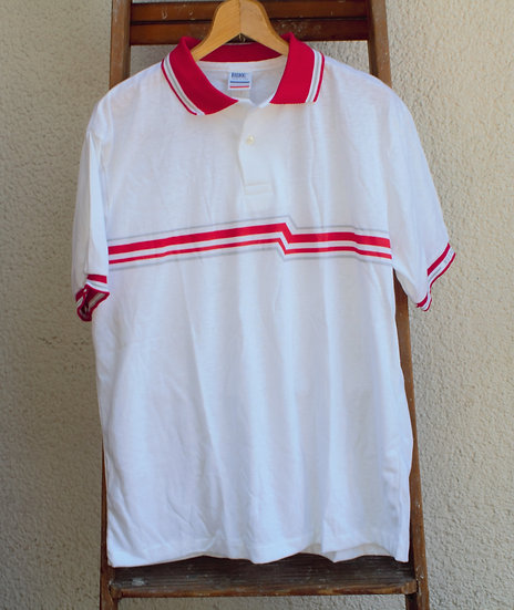 Made in USA/1980`s/BIKE Polo-Shirt/DEADSTOCK/バイク/ポロシャツ/デッドストック