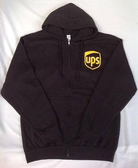 ジップアップ パーカー UPS
