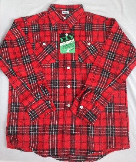 デッドストック ネルシャツ 70年代 USA