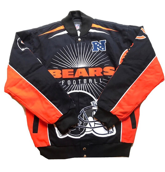 NFL Chicago Bears Official Jacket/New/ベアーズスタジャン/新品/オフィシャル