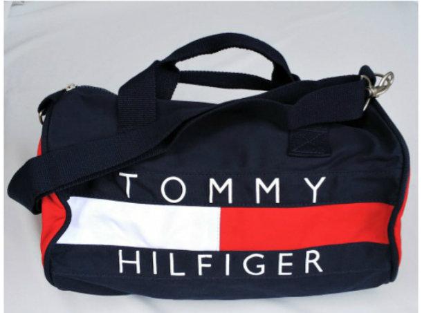 USA/TOMMY HILFIGER/ドラムバッグ/新品