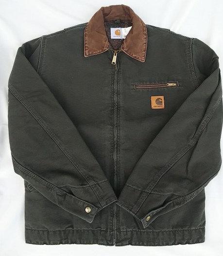 1990's/carhartt/DEADSTOCK/ジャケット/ウォッシュ加工/オリーブ×ブラウン