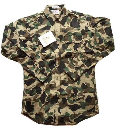 1980`s/Made in USA/Prentiss Chamois Cloth Shirt\/Deadstock/プレンティス/シャモアシャツ/アメリカ製