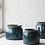 Thumbnail: Cache-pot céramique bleu