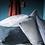 Thumbnail: Coussin lin lavé safran