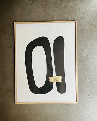 Encre de chine 60x80 cm