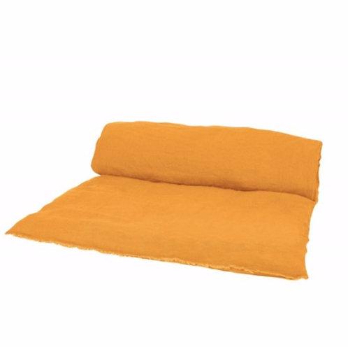 Sofa cover lin lavé Chamois