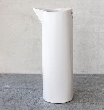 Carafe/vase céramique blanche
