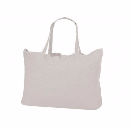 Tote bag XXL en lin naturel