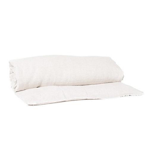 Sofa cover lin lavé naturel