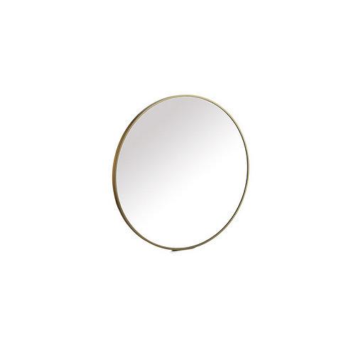 Miroir doré 40 cm