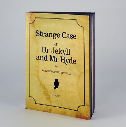 Carnet Docteur Jekyll & Mr Hyde