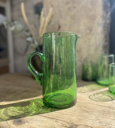 Carafe verre recyclé