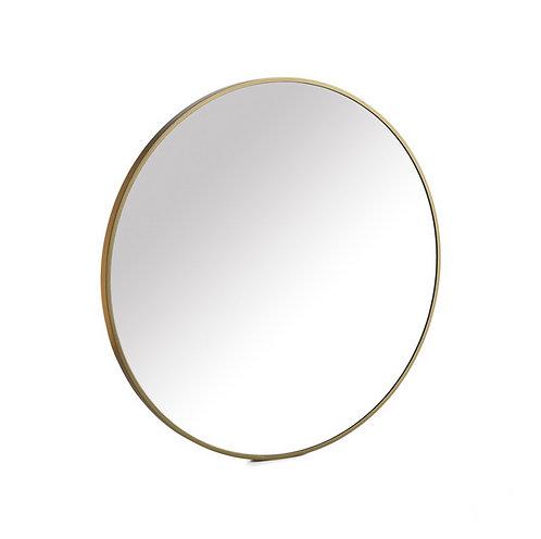 Miroir doré 80 cm