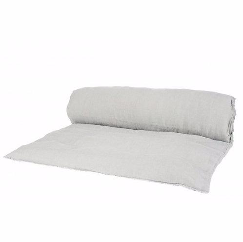 Sofa cover lin lavé béton